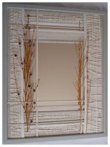 Tableau-miroir - Décembre 2015 A - dimension: 53x43 - référence: P1980488 - pix:350€