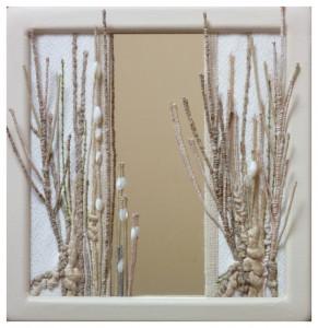 Tableau-miroir - Juin 2019 C - dimension: 20x20 - référence: P2020441 - prix: 110€