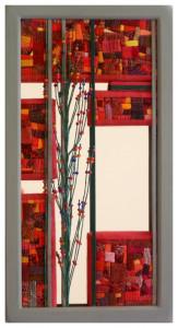 Tableau-miroir - Décembre 2019 E - dimension: 25x25 - référence: P2030201 - prix: 150€